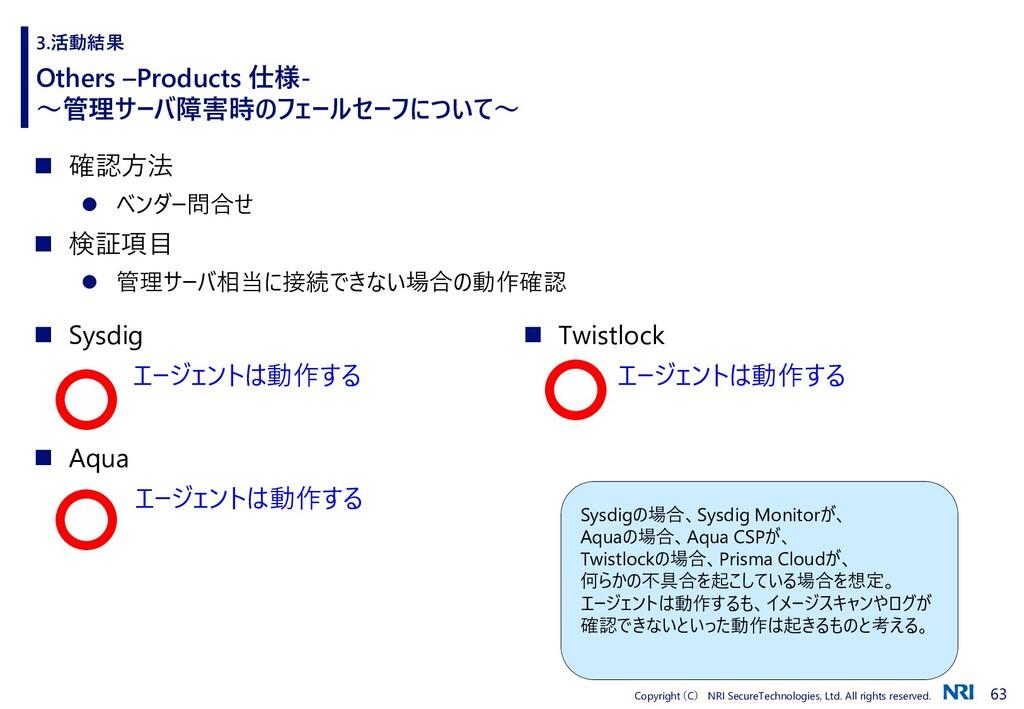 63 Copyright (C) NRI SecureTechnologies, Ltd. A...
