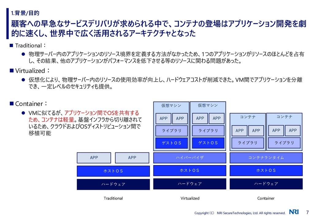 7 Copyright (C) NRI SecureTechnologies, Ltd. Al...