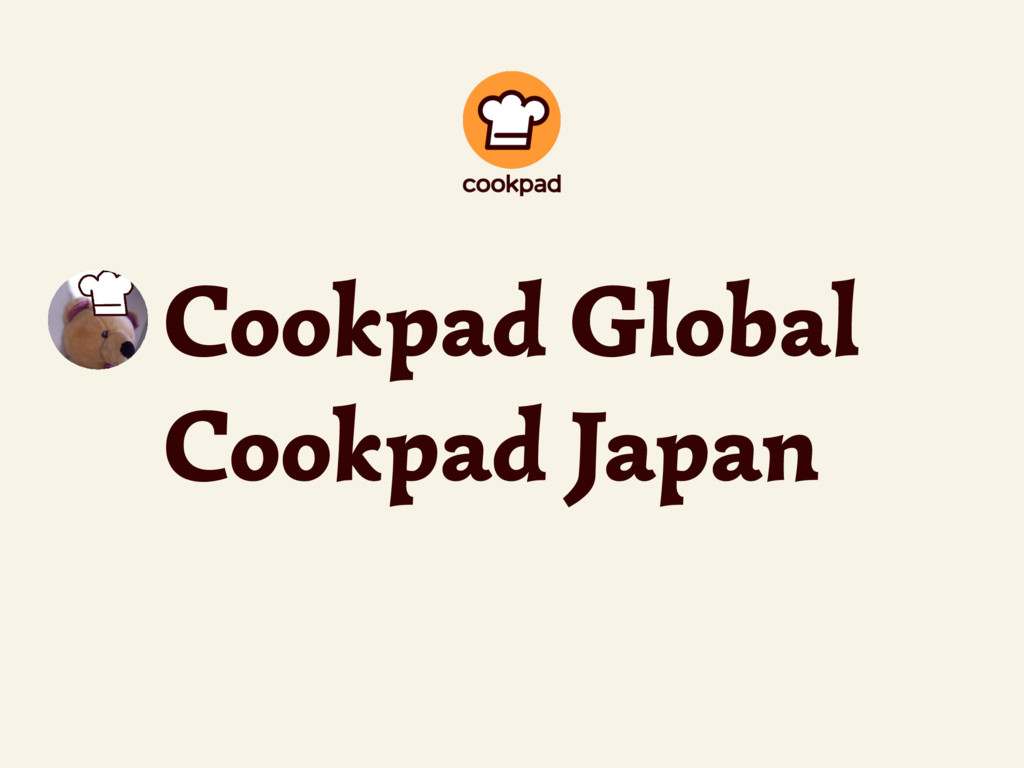 Cookpad Global Cookpad Japan