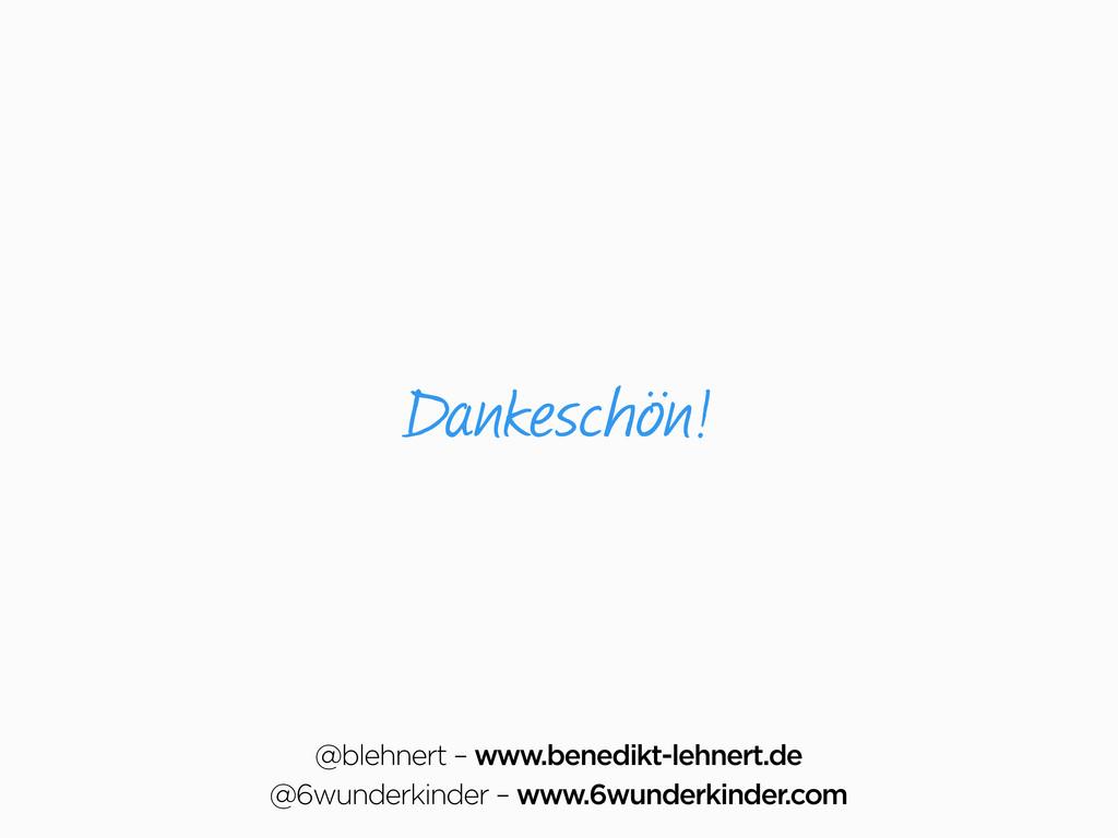 Dankeschön! @blehnert – www.benedikt-lehnert.de...