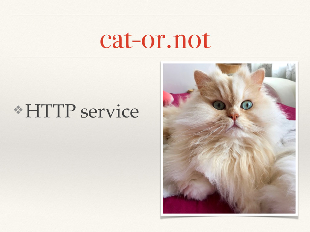 cat-or.not ❖ HTTP service