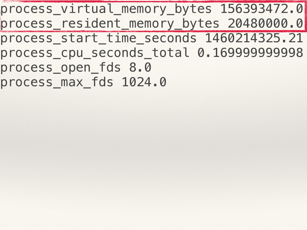 process_virtual_memory_bytes 156393472.0 proces...