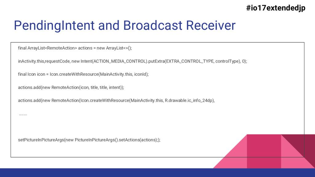 PendingIntent and Broadcast Receiver final Arra...