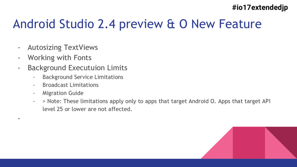 Android Studio 2.4 preview & O New Feature - Au...
