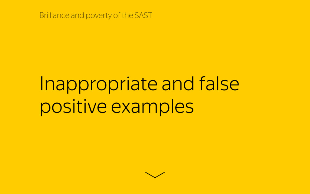 Inappropriate and false positive examples Brill...