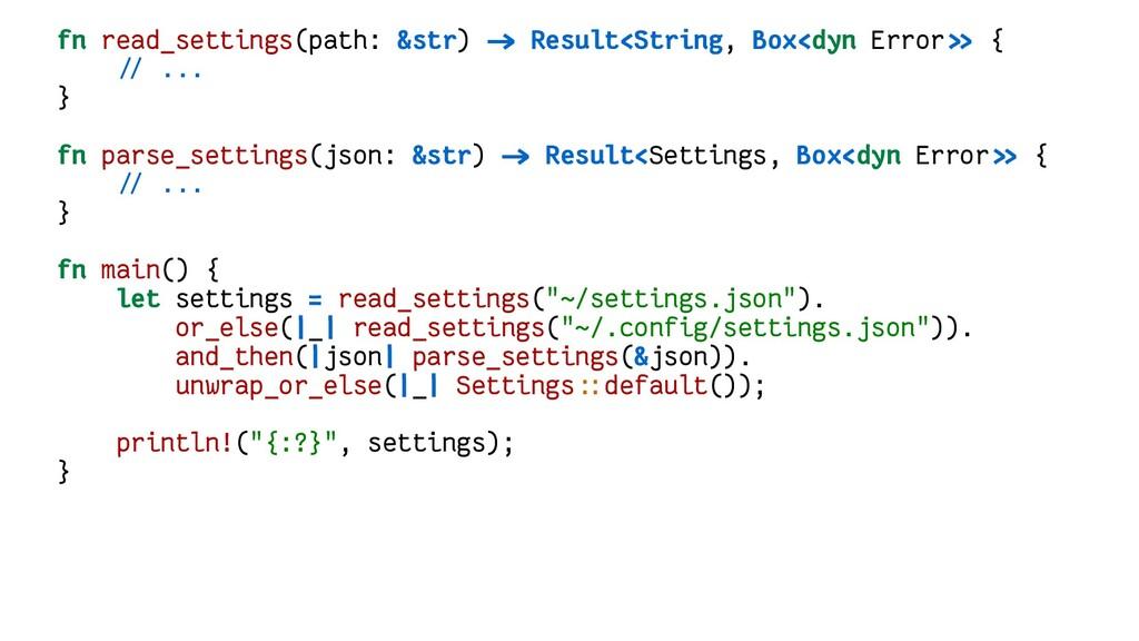 fn read_settings(path: &str) -> Result<String, ...