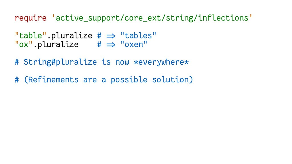 require 'active_support/core_ext/string/inflect...