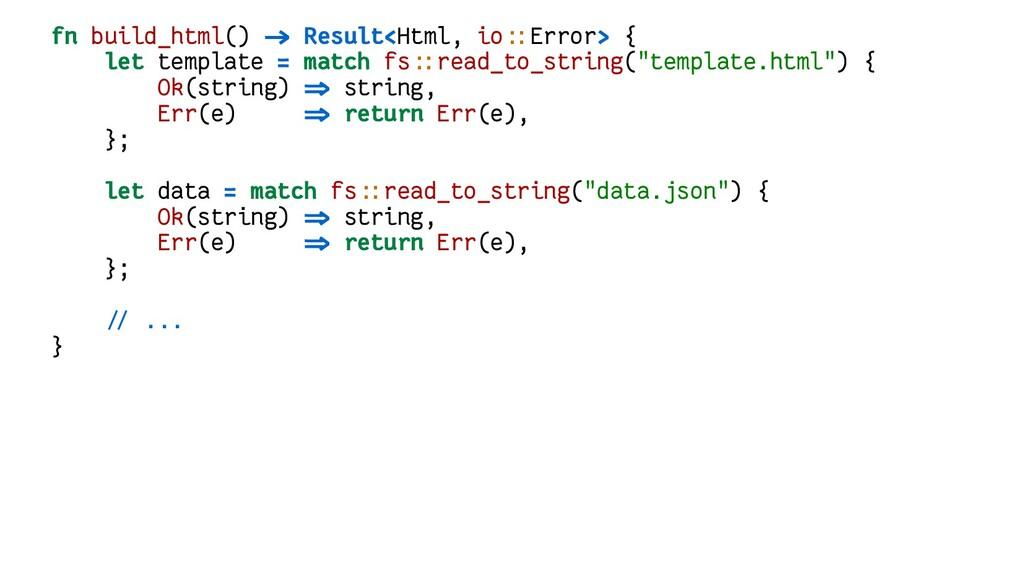 fn build_html() -> Result<Html, io::Error> { le...