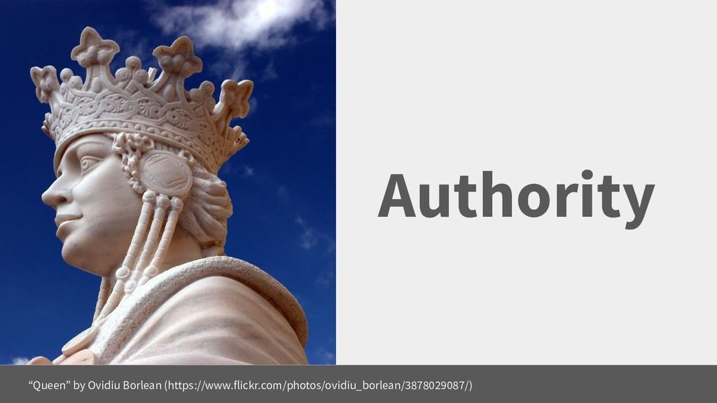 "Authority ""Queen"" by Ovidiu Borlean (https://ww..."