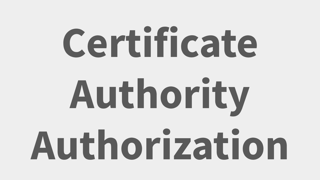 Certificate Authority Authorization Your Twitte...