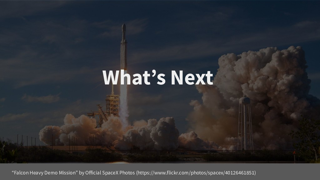 """What's Next """"Falcon Heavy Demo Mission"""" by Offi..."""