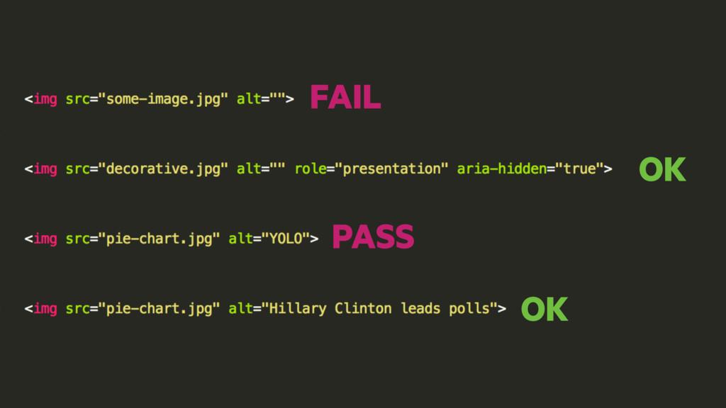 OK OK FAIL PASS