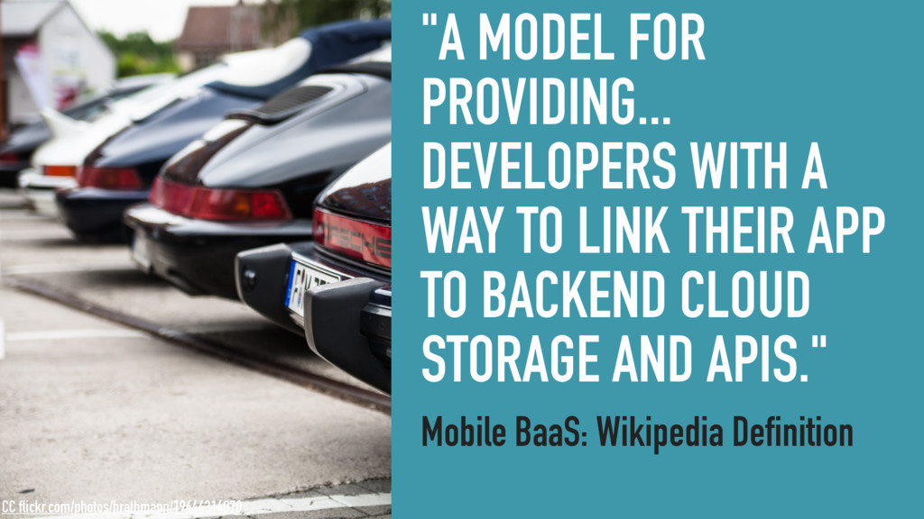 """A MODEL FOR PROVIDING... DEVELOPERS WITH A WAY..."