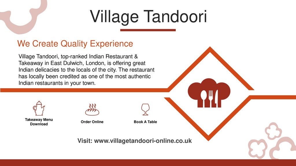 Village Tandoori Takeaway Menu Download Order O...
