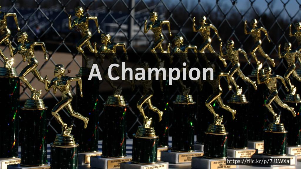 A Champion https://flic.kr/p/7J1WXa