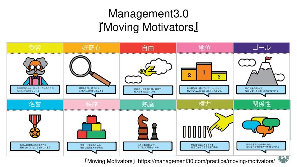「Moving Motivators」https://management30.com/pra...