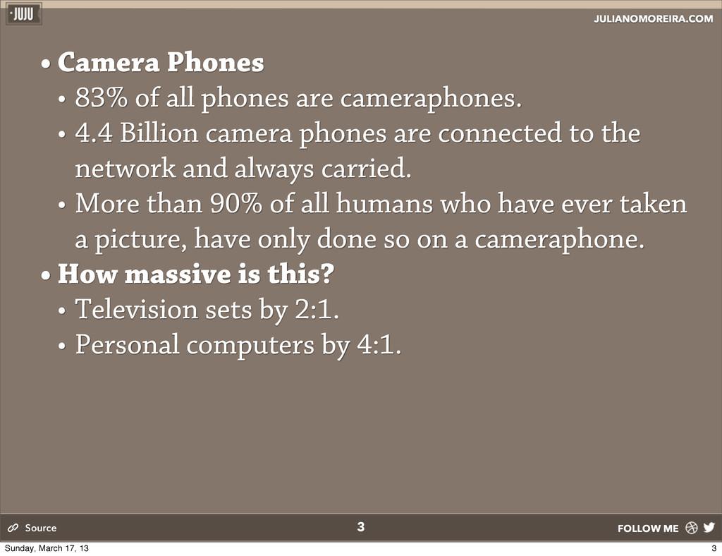 JULIANOMOREIRA.COM FOLLOW ME 3 • Camera Phones ...