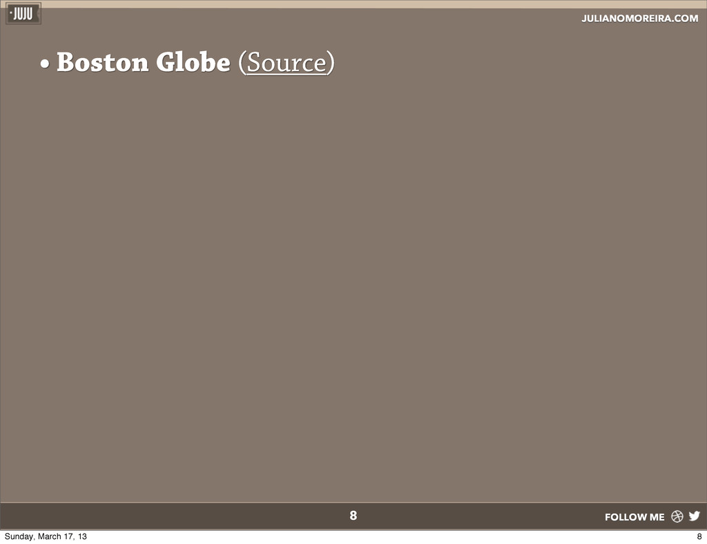 JULIANOMOREIRA.COM FOLLOW ME • Boston Globe (So...