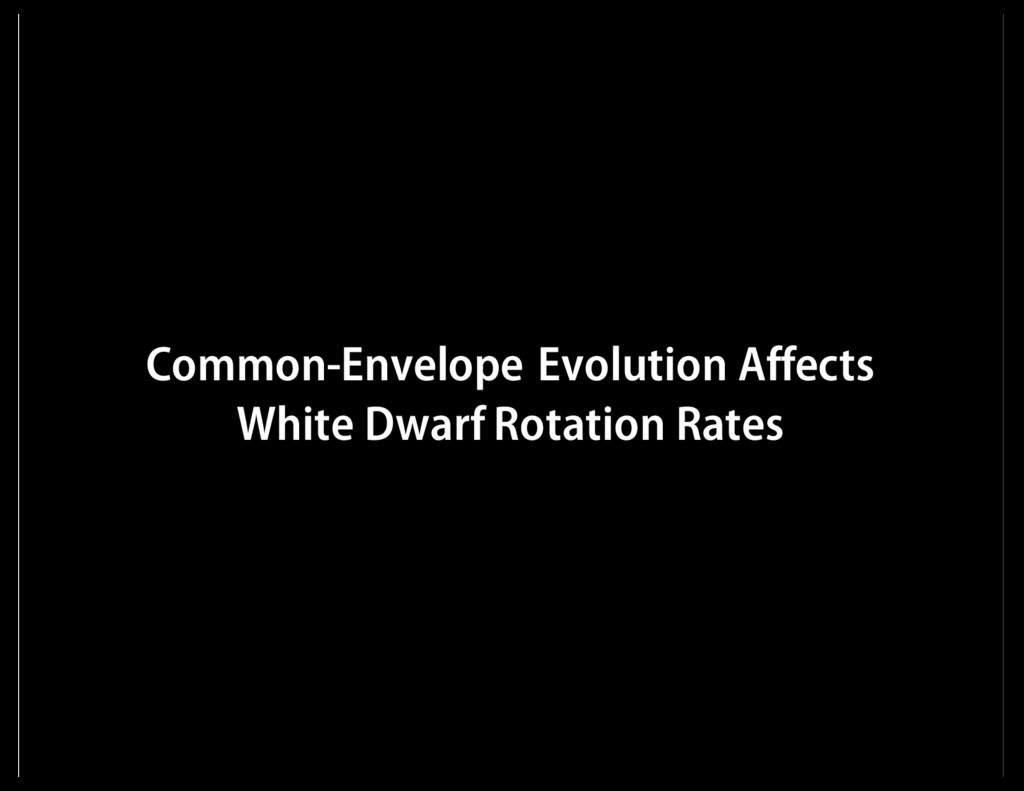 Common-Envelope Evolution Affects White Dwarf R...
