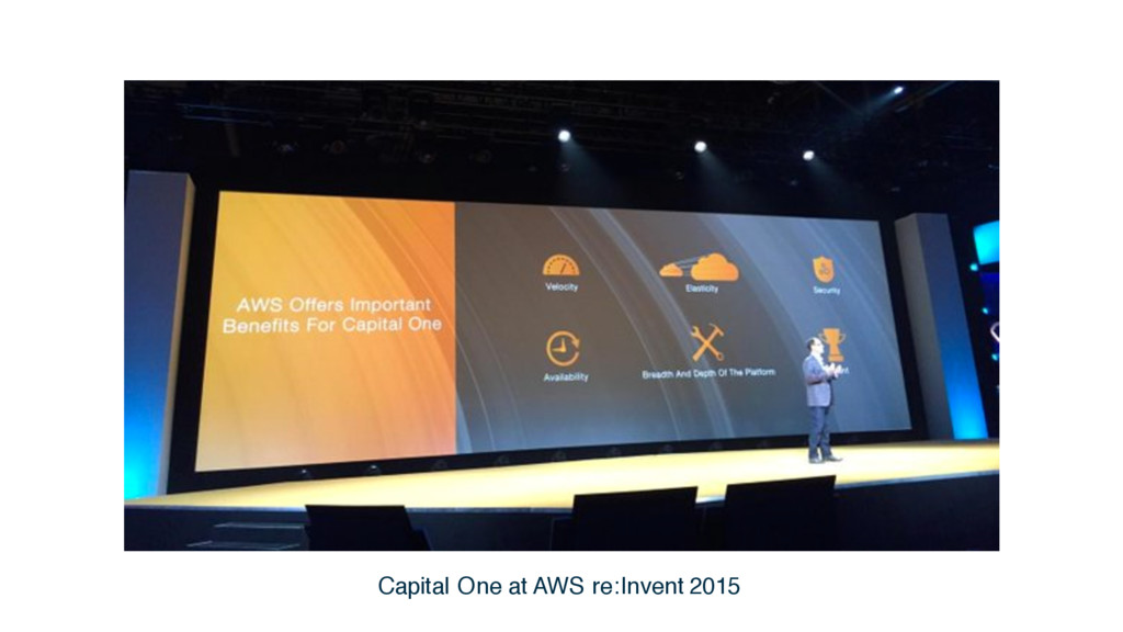 Capital One at AWS re:Invent 2015