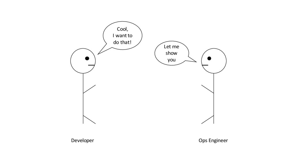 Developer Ops Engineer Cool, I want to do that!...