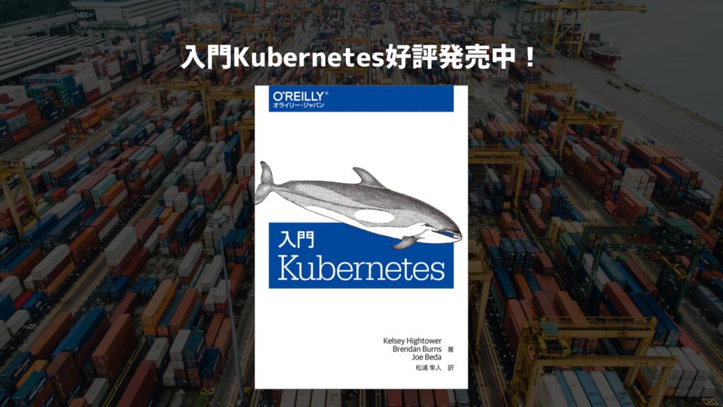 入門Kubernetes好評発売中!