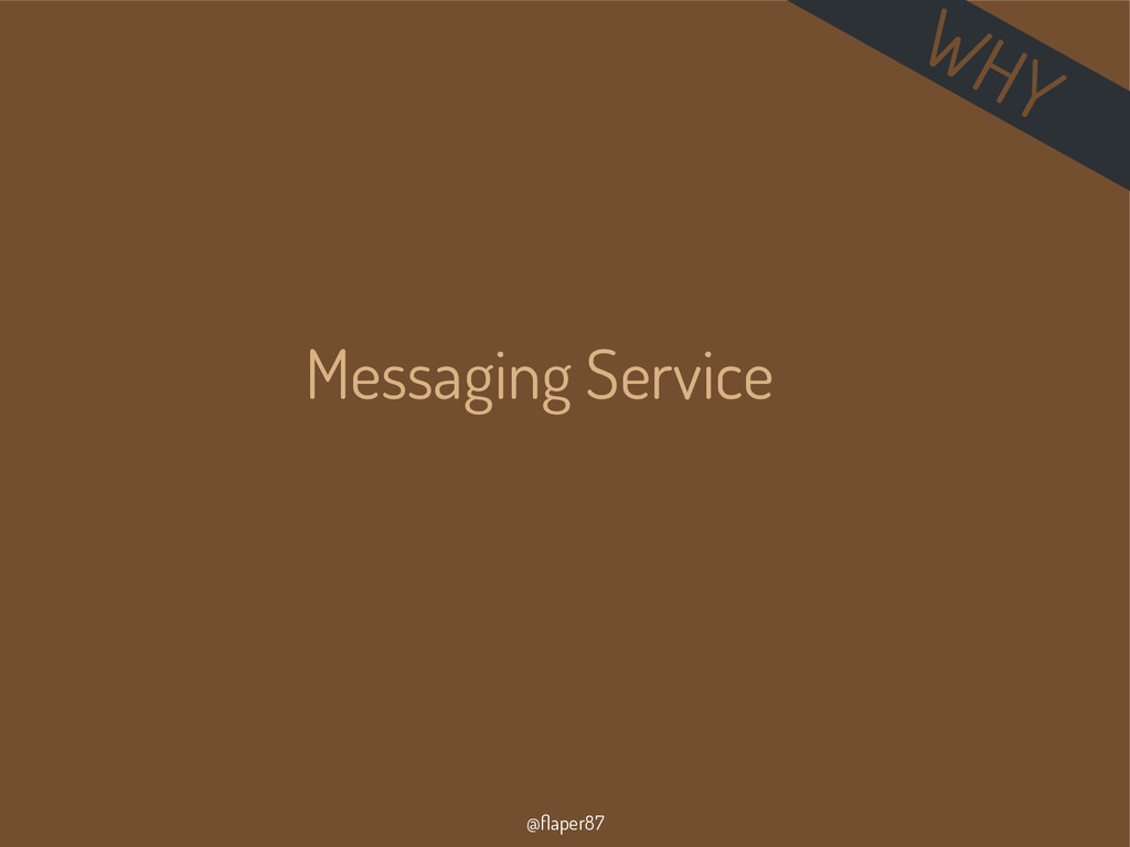 @flaper87 Messaging Service