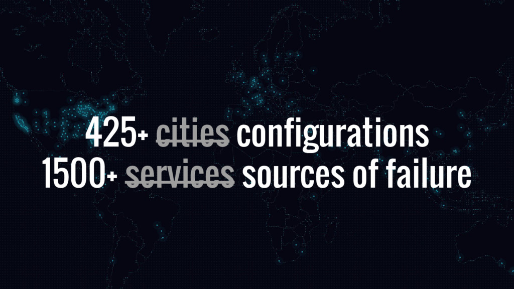 425+ cities configurations 1500+ services sourc...