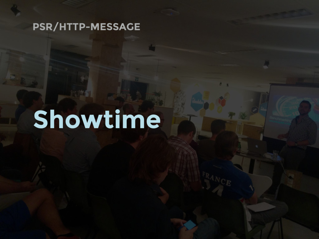 PSR/HTTP-MESSAGE Showtime
