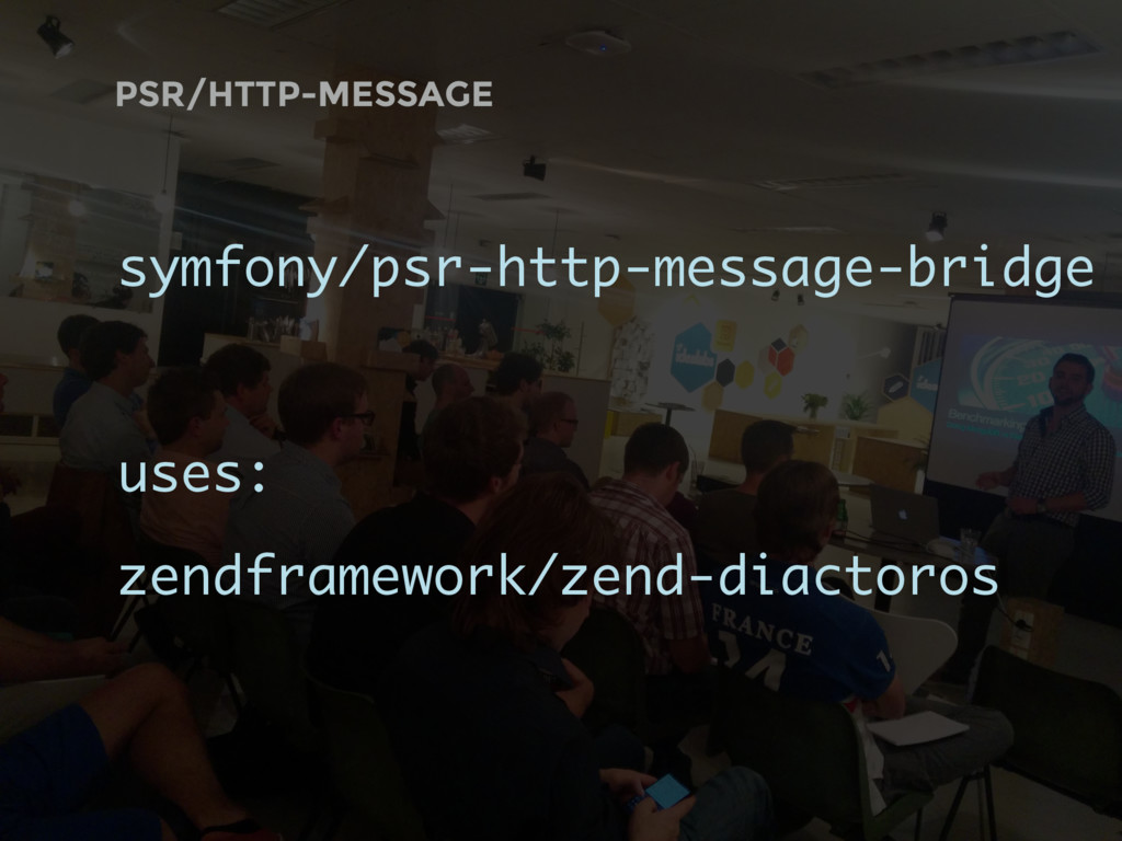 PSR/HTTP-MESSAGE symfony/psr-http-message-bridg...