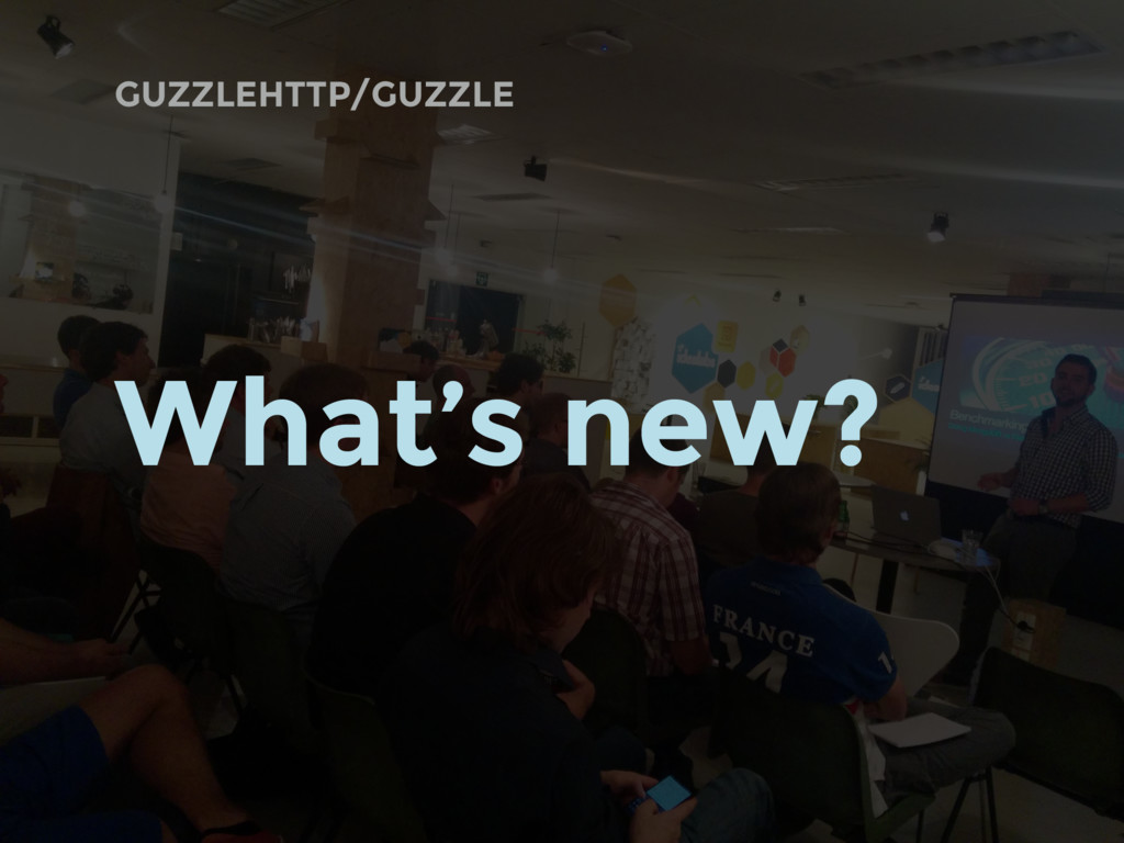 GUZZLEHTTP/GUZZLE What's new?