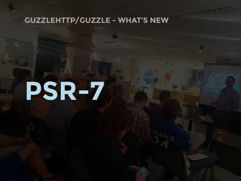 GUZZLEHTTP/GUZZLE - WHAT'S NEW PSR-7