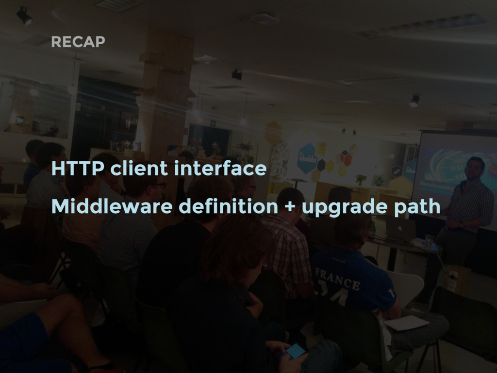 RECAP HTTP client interface Middleware definiti...