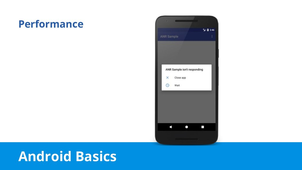 Android Basics Performance