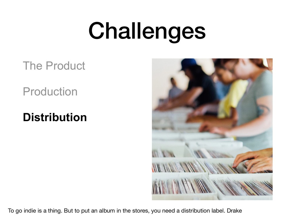 Challenges The Product Production Distributio...