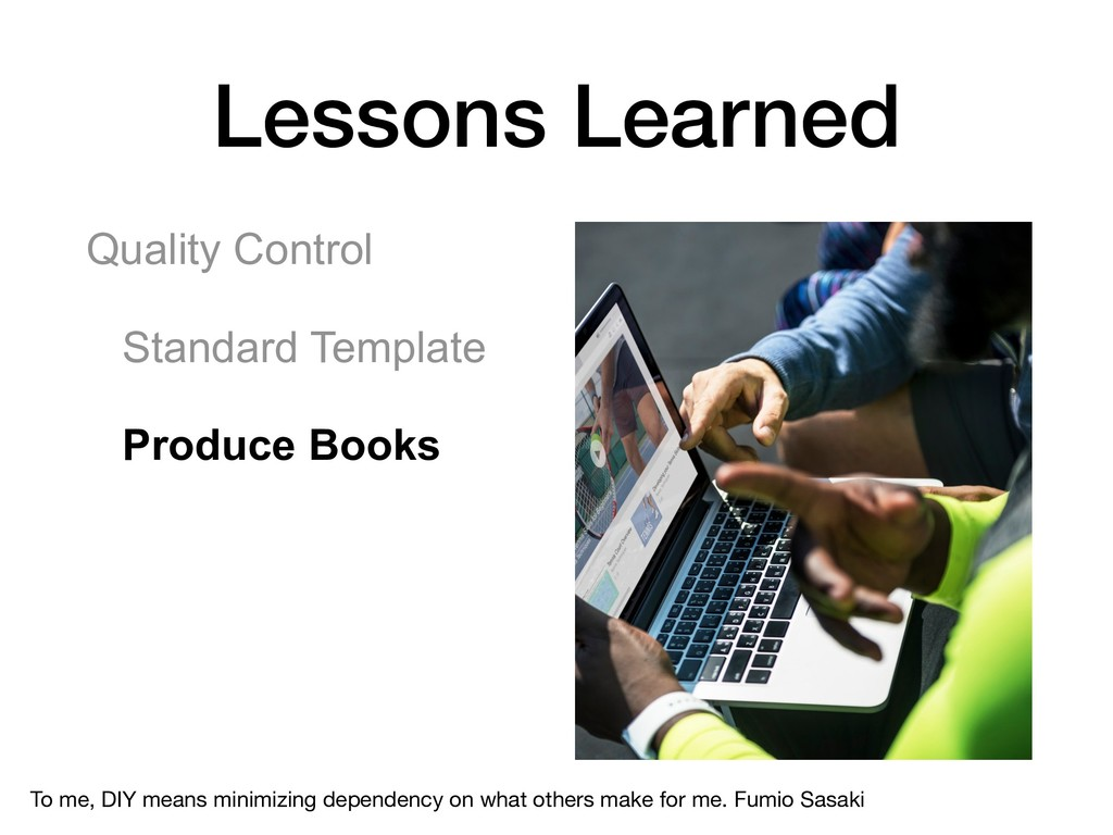 Quality Control Standard Template Produce Books...