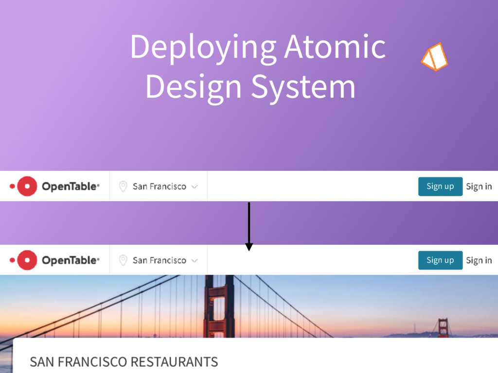 Sign up Deploying Atomic Design System? at scal...