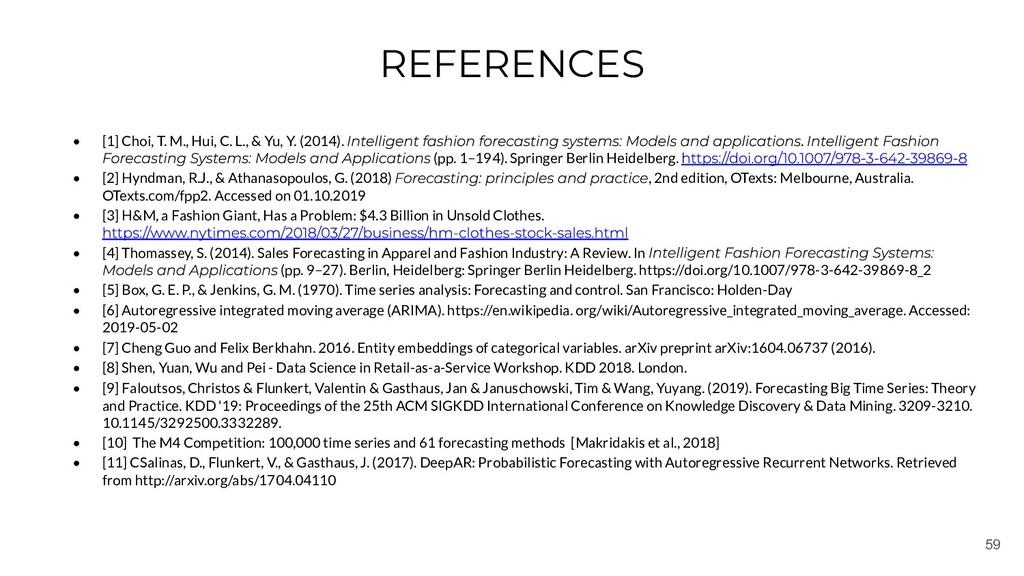 59 REFERENCES • [1] Choi, T. M., Hui, C. L., & ...