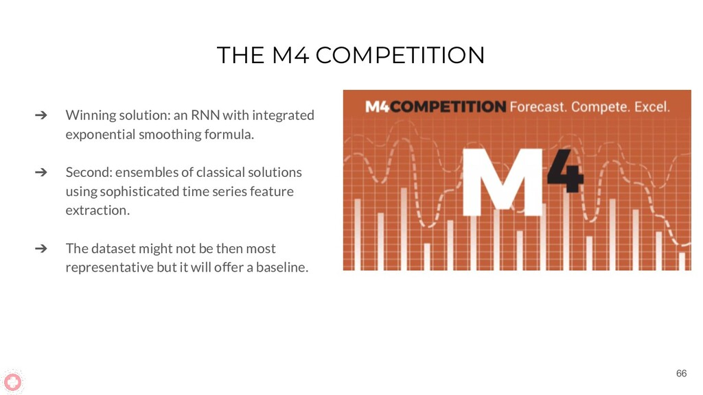 THE M4 COMPETITION ➔ Winning solution: an RNN w...