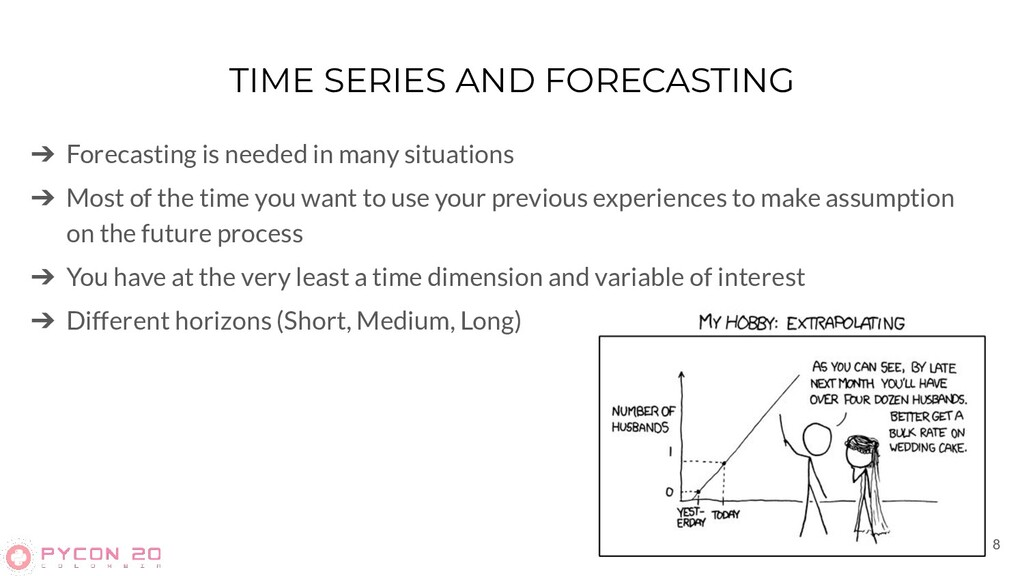 TIME SERIES AND FORECASTING ➔ Forecasting is ne...