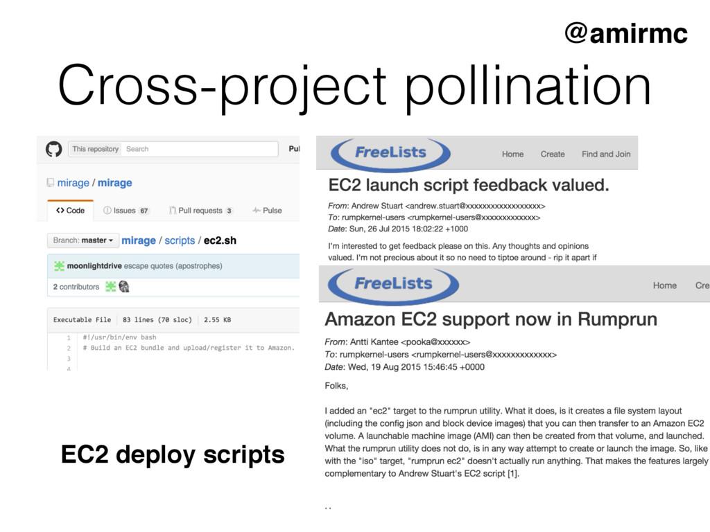 Cross-project pollination @amirmc EC2 deploy sc...