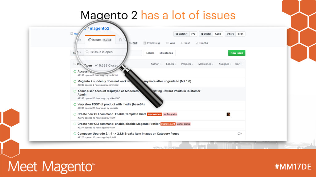 Magento 2 has a lot of issues