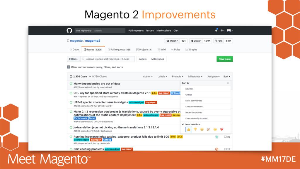 Magento 2 Improvements