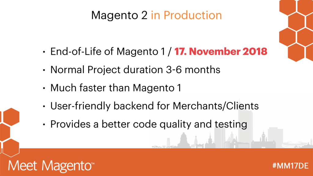 • End-of-Life of Magento 1 / 17. November 2018 ...