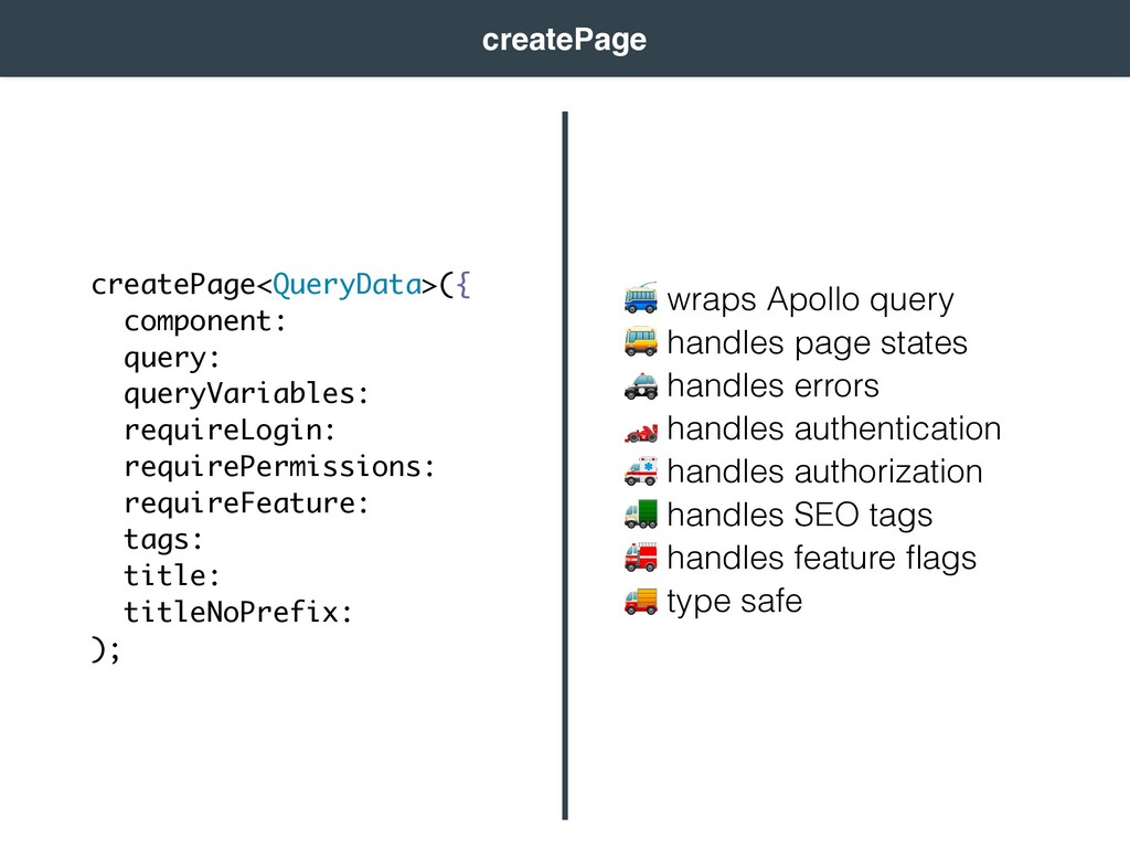 wraps Apollo query  handles page states  handl...