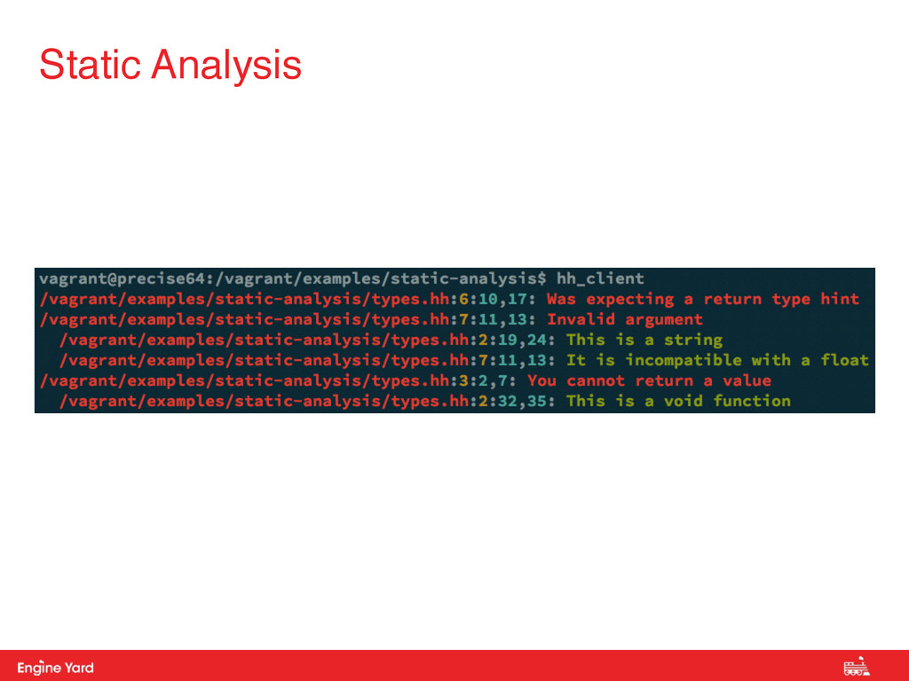 Proprietary and Confidential Static Analysis