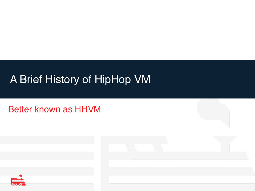 A Brief History of HipHop VM Better known as HH...