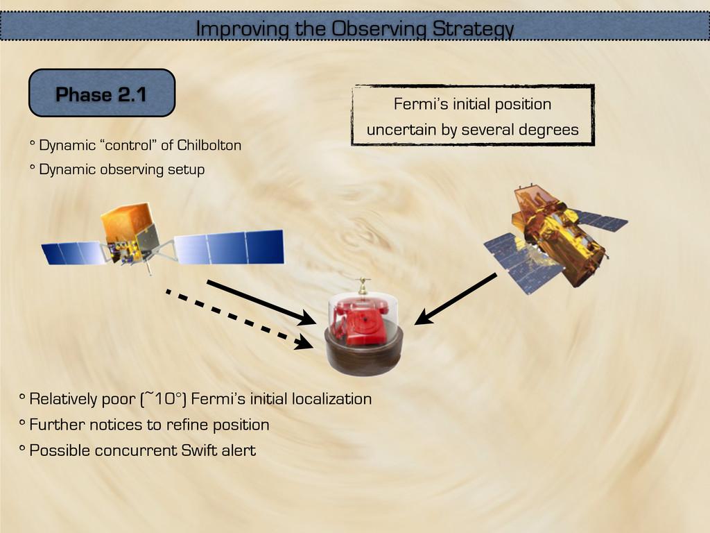 """Phase 2.1 Dynamic """"control"""" of Chilbolton Dynam..."""