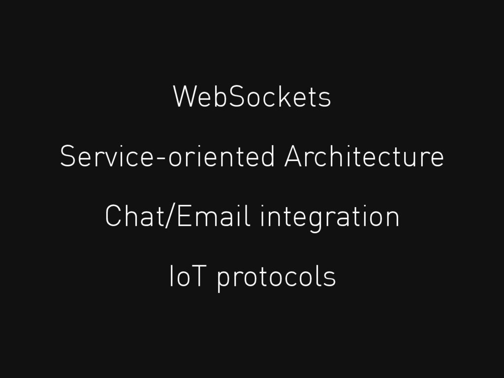 WebSockets Service-oriented Architecture Chat/E...