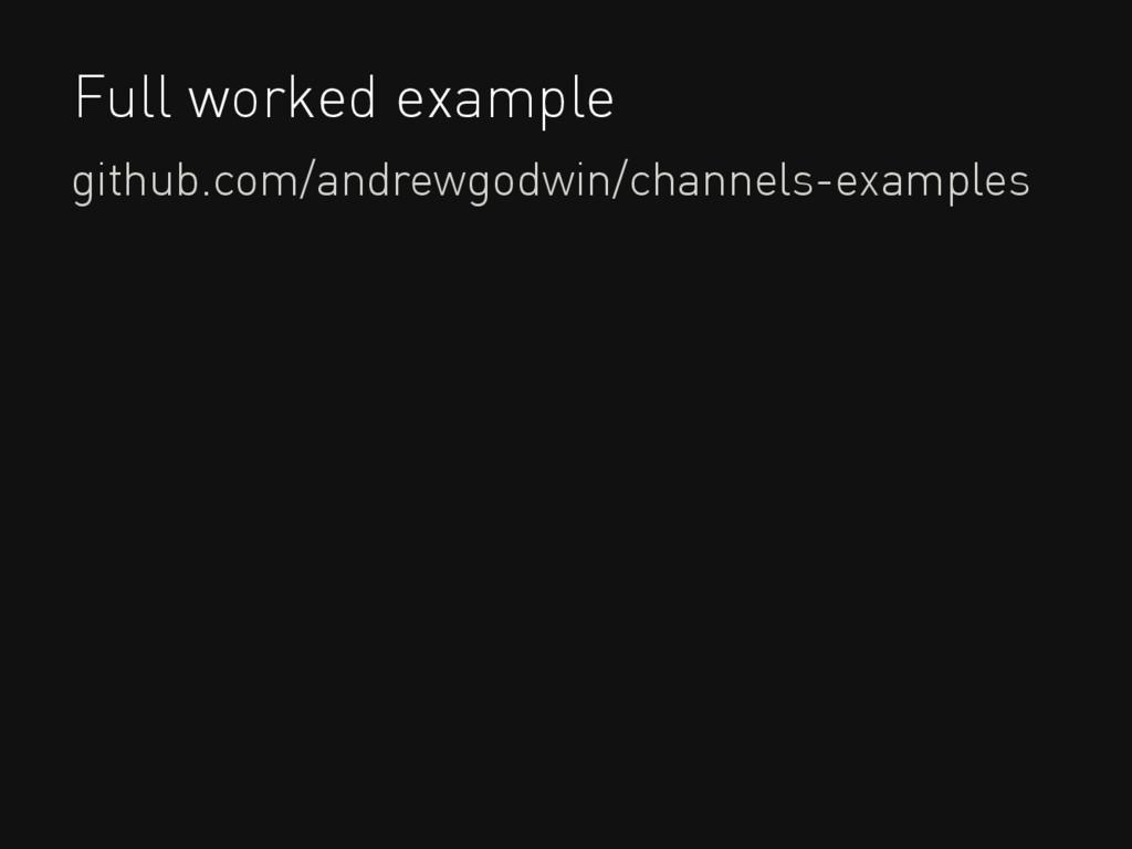 Full worked example github.com/andrewgodwin/cha...